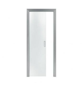 Kit de finition alu pour Verre supendu sur Base et Doortech